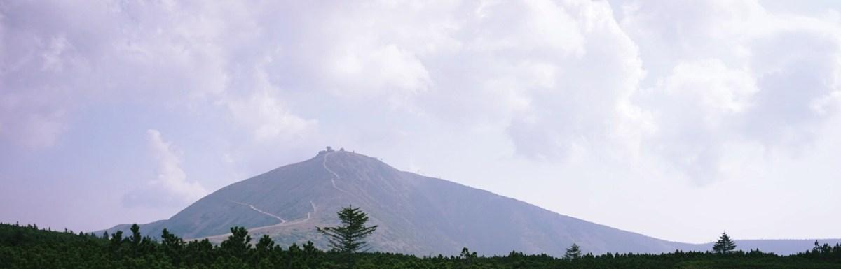 Karpacz Schneekoppe mountain view