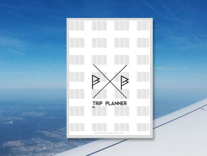 FREEBIE: Printable City Trip Planner