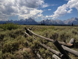 Grand Tetons National Park. Wyoming