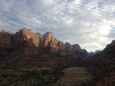 Sun Rising on Zion National Park