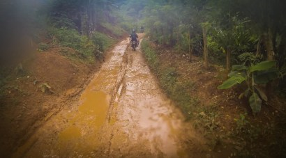 The road to Semuc Champey