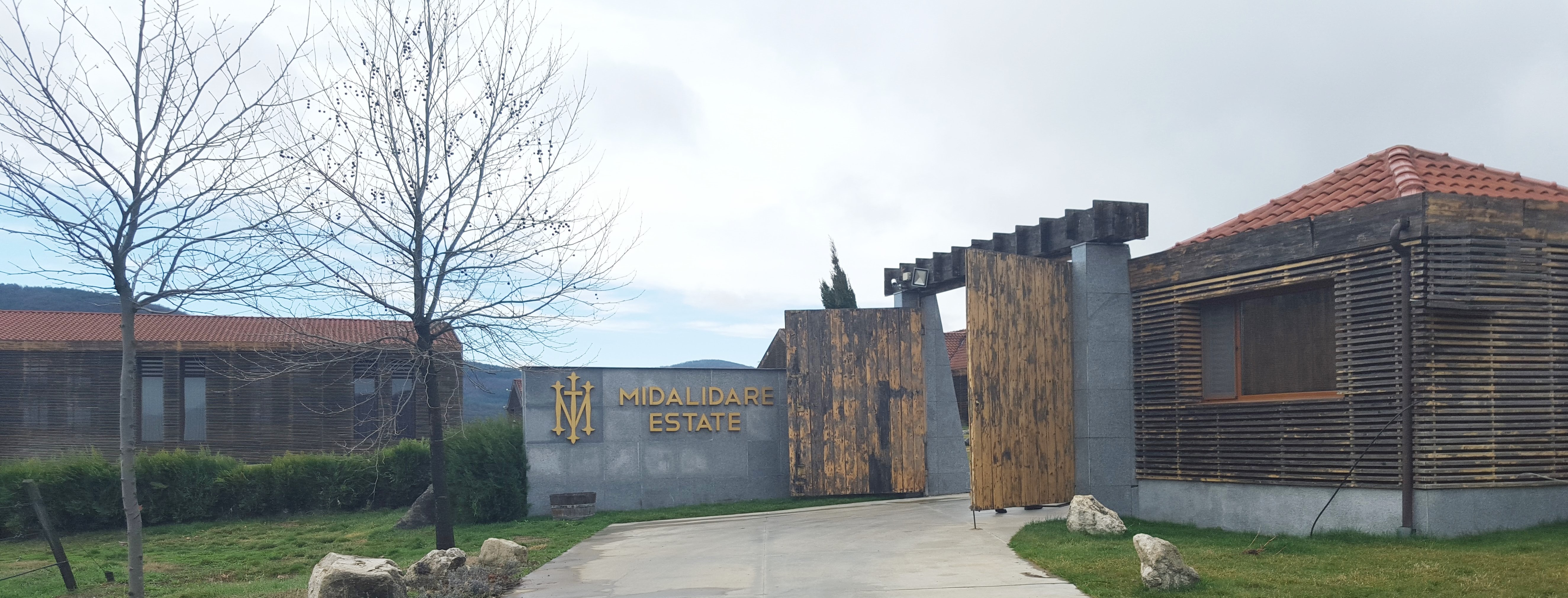 Entrance of winery 1 Midalidare Estate by placescases.com