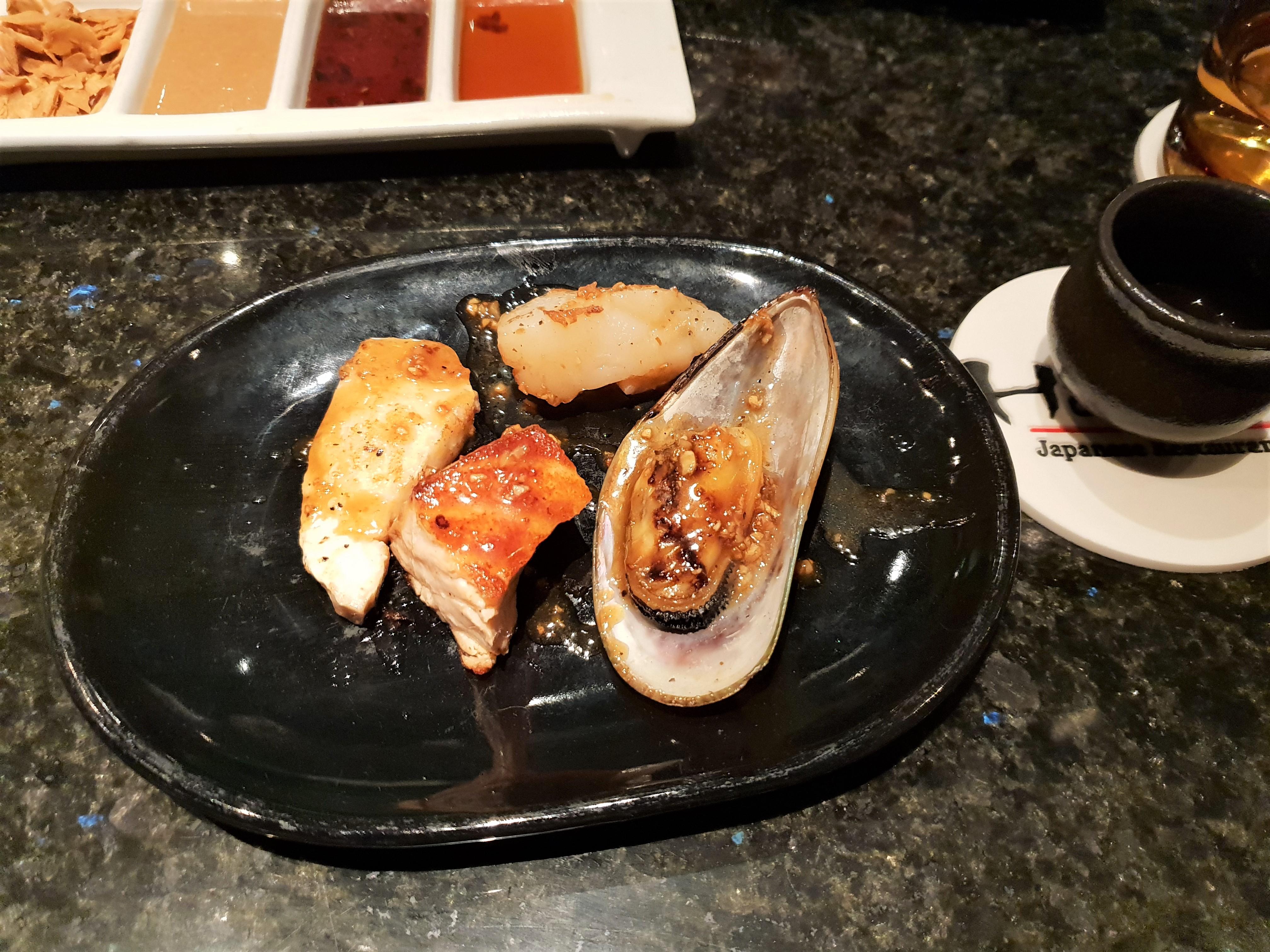 Enjoy Japanese cuisine on Bali at Hamabe in Westin hotel