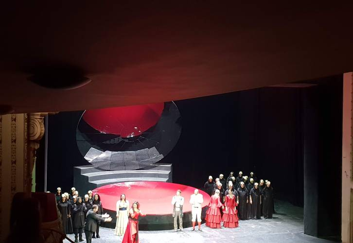 Carmen by Bizet in Sofia Opera and Ballet, placescases.com
