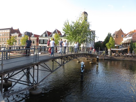 Pedestrian bridge in Leiden