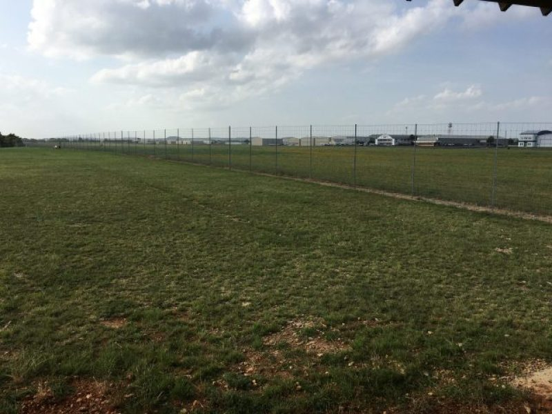 View of the airport from Fredericksburg Dog Park