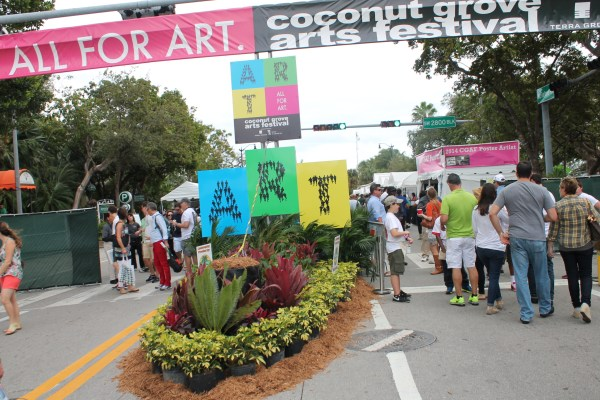 Coconut Grove Art Festival 2014