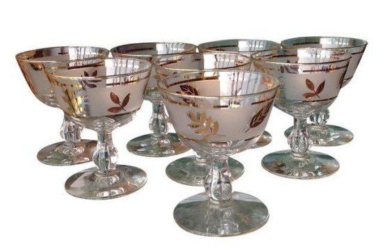 mid-century-gold-leaf-champagne-sherbets