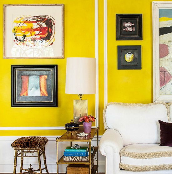one kings lane_kim bachmann_YELLOW ROOM WALL