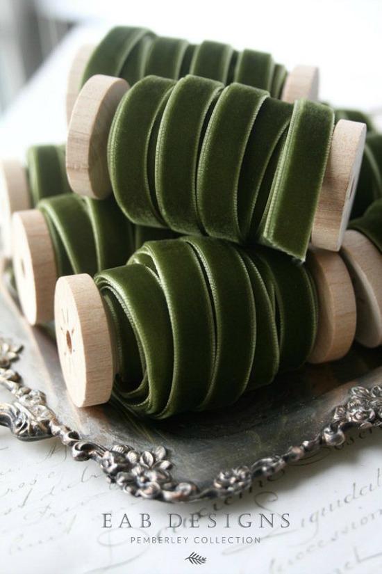 velvet-ribbon-olive