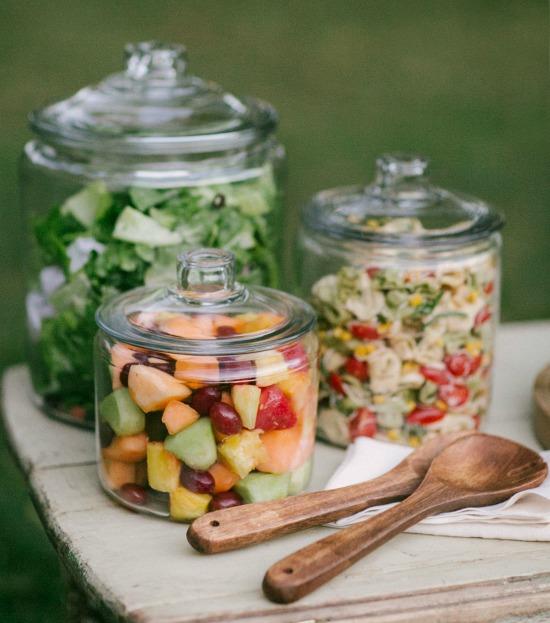 jar salad serving ideas