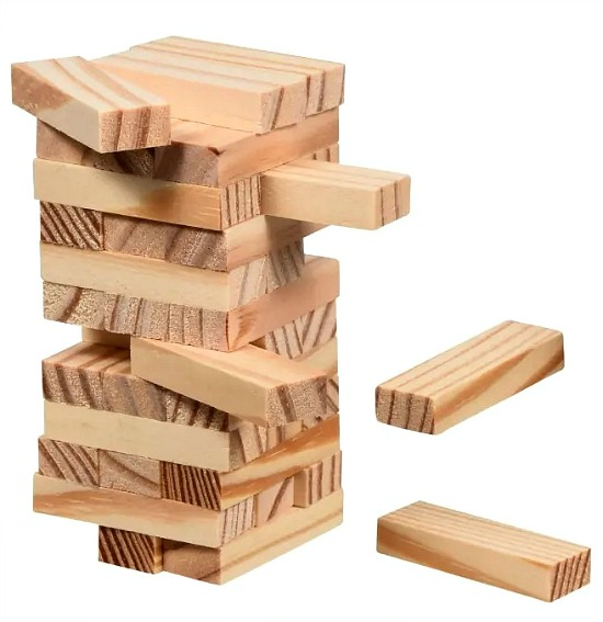 wood block game