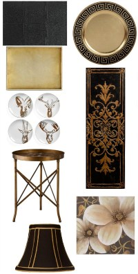 Saintsational Black and Gold Home Decor | Places in the Home