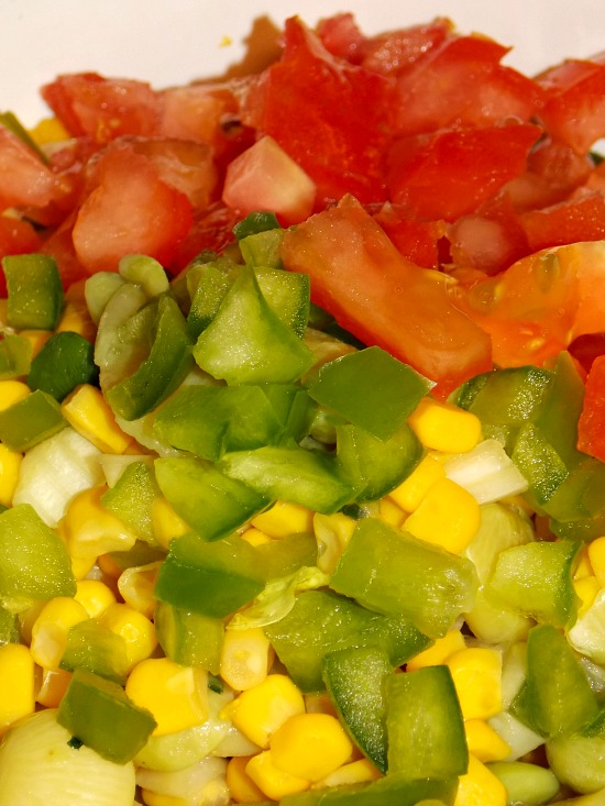 corn tomatoes peppers