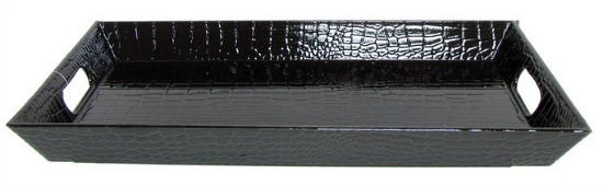 black-croc-tray