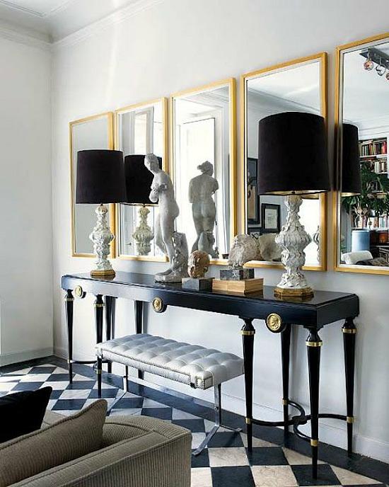 black-gold-foyer-accessories