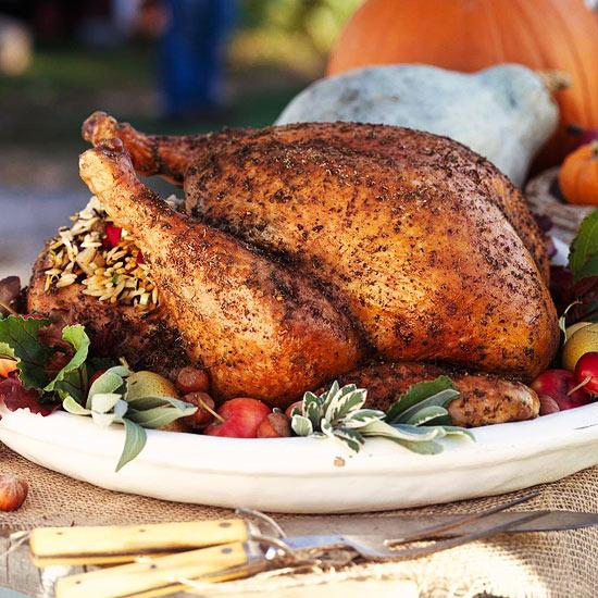 Thanksgiving-turkey-pear-stuffing