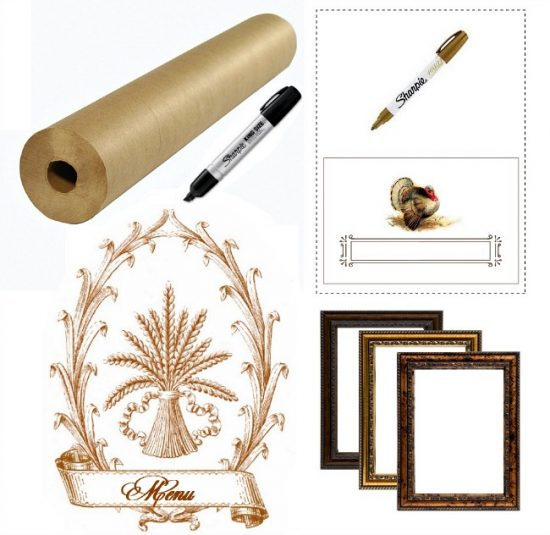 tablescape accents