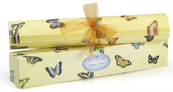 Butterfly Garden Scented Drawer Liners From Scentennials (6 Sheets)