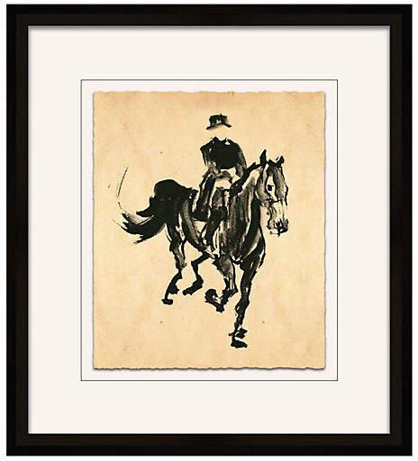 Filbert Gerhardt - Horse Sketch - Soicher Marin Art