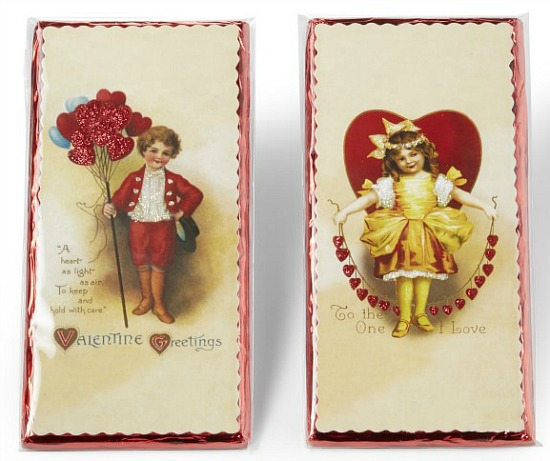 Vintage Valentine's Day Bars