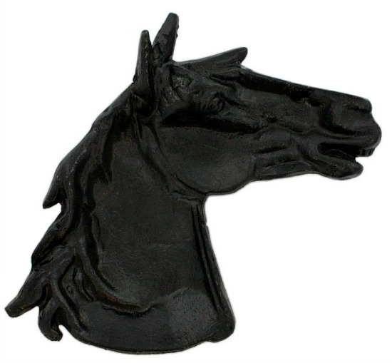 Decorative Cast Iron Horse Head Tray