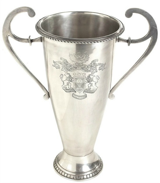 Nickel Etched Trophy
