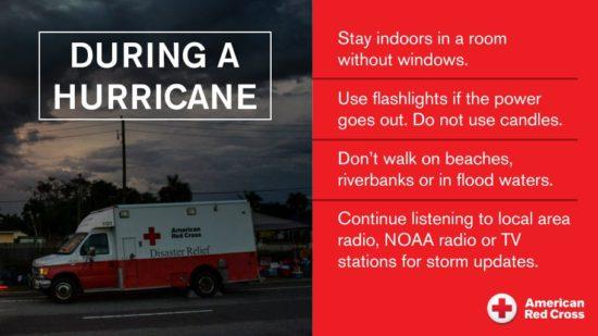 red cross flood advice