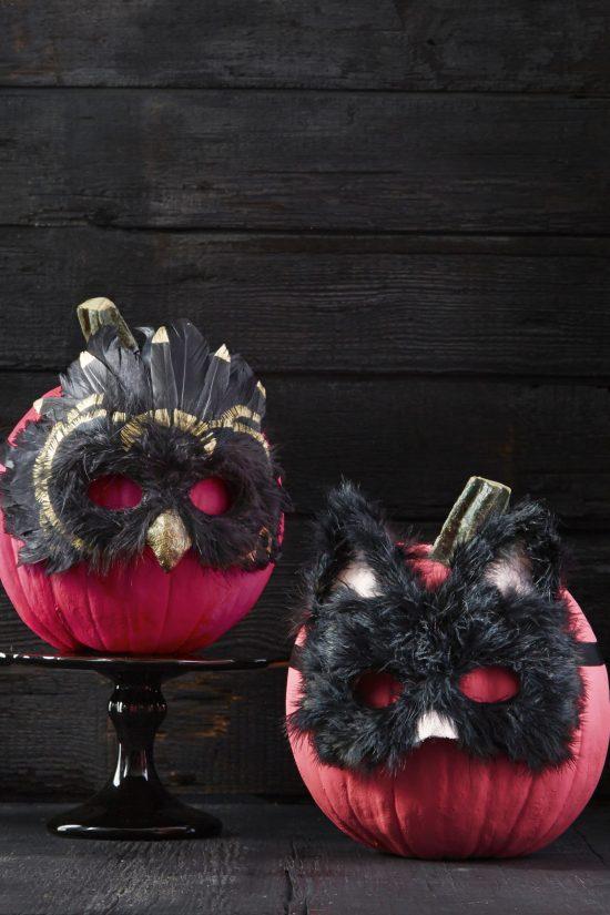 masquerade-pumpkins