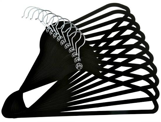 Joy Mangano Huggable Hangers® 10-Pack Shirt Hangers