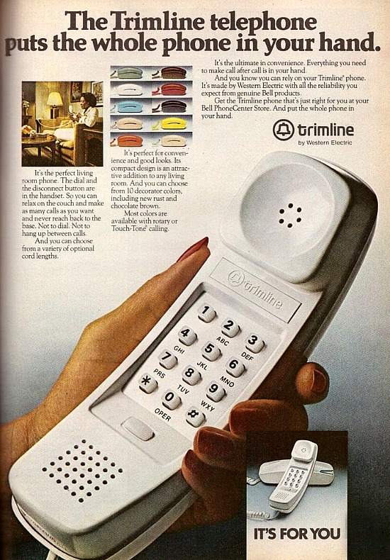 trimline telephone
