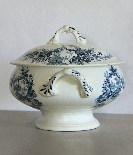 French-blue-vintage-soup-tureen