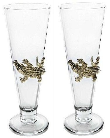 alligator-Pilsner-glasses