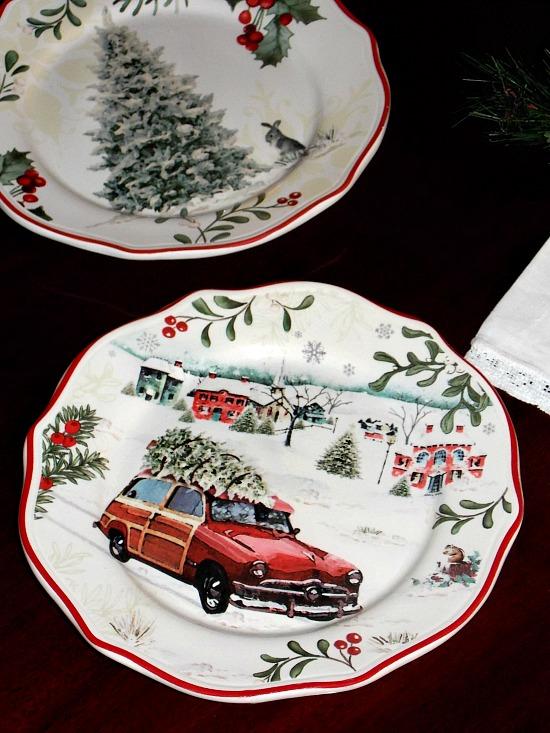 Christmas-dessert-plates
