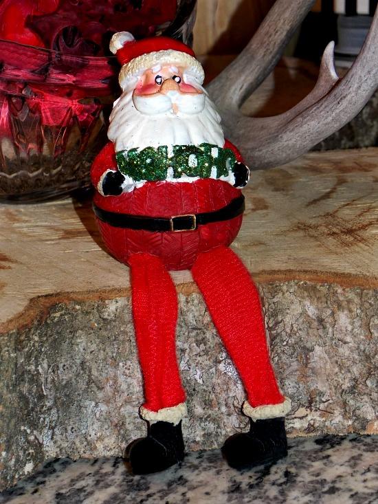 Sitting-Santa