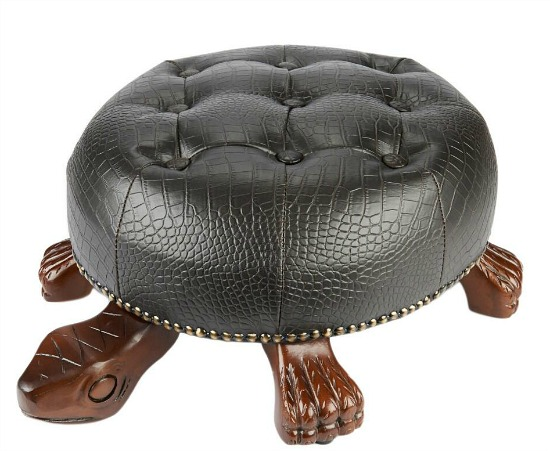 Turtle Decorative Ottoman Footstool