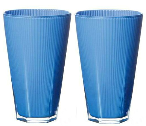 VIETRI Accordion Tall Tumbler