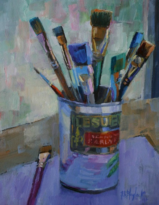 oil_painting_of_paint_brushes_in_an_english_pea_can
