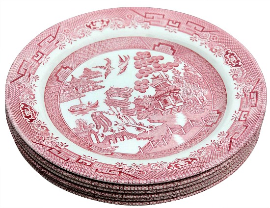 vintage-asian-dinner-plates