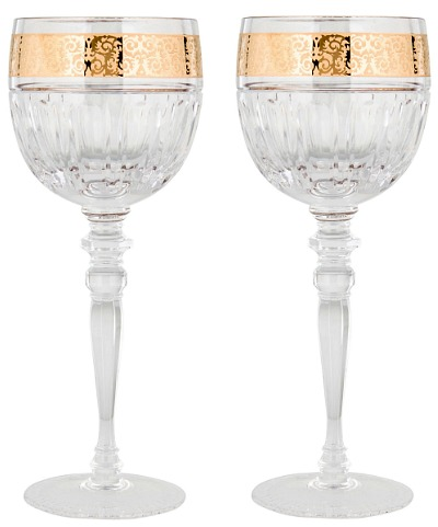 Rosenthal Meets Versace Gala Prestige White Wine Glass