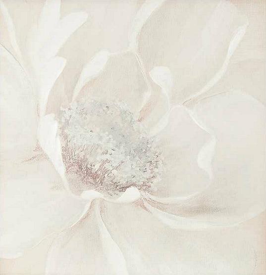 Large Graceful Magnolia Canvas Art Print