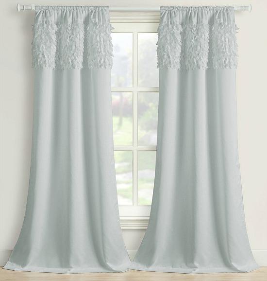 Walden Leaves 2-Pack Rod-Pocket Curtain Panel
