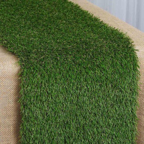 artificial-grass-table-runner