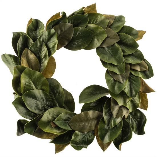 faux-magnolia-wreath