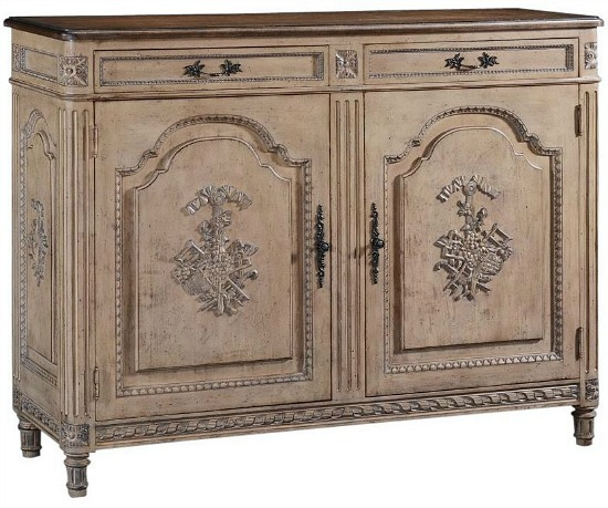 Sideboard Walnut French Dove Tail 2-Door