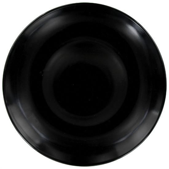 black-dinner-plate