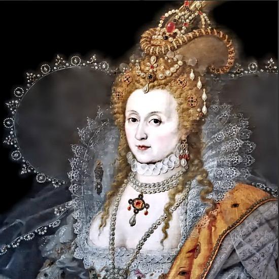 Queen Elizabeth fabric