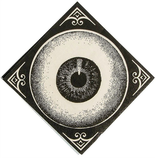 eye-ball-Halloween-beverage-napkin