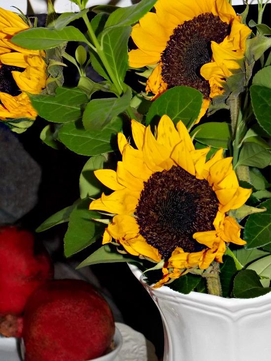 sunflowers-pomegranates
