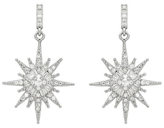 star-cz-earrings